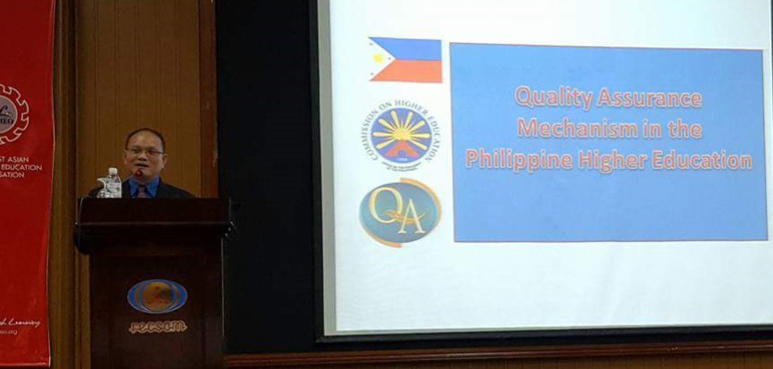 Dr. Muyong shares the Philippines practice on Quality Education.