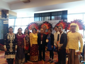 SUCAHTEP officers and participants pose with Dr. Raul F. Muyong, SUCAHTEP consultant.