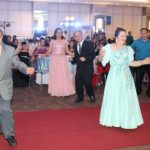 The University key officials and selected faculty display their mastery of the dance floor.