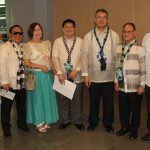 Sec. De La Pena with DOST 6 officials and SUCs Presidents.