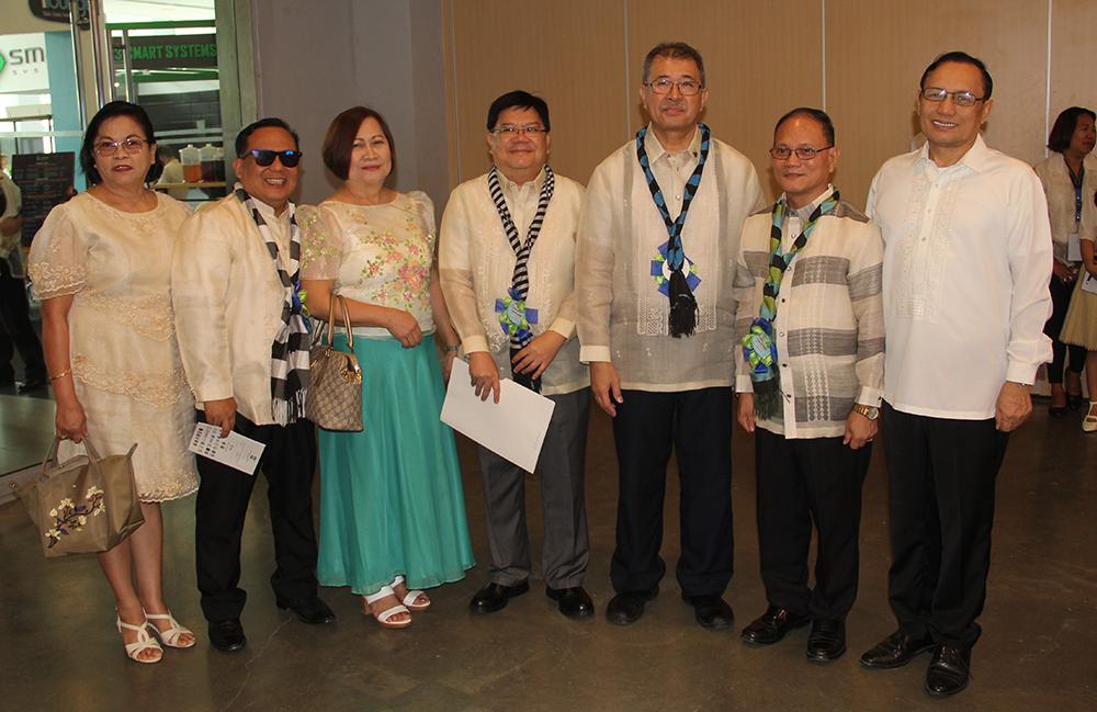 Sec. De La Pena with DOST 6 officials and SUCs Presidents.