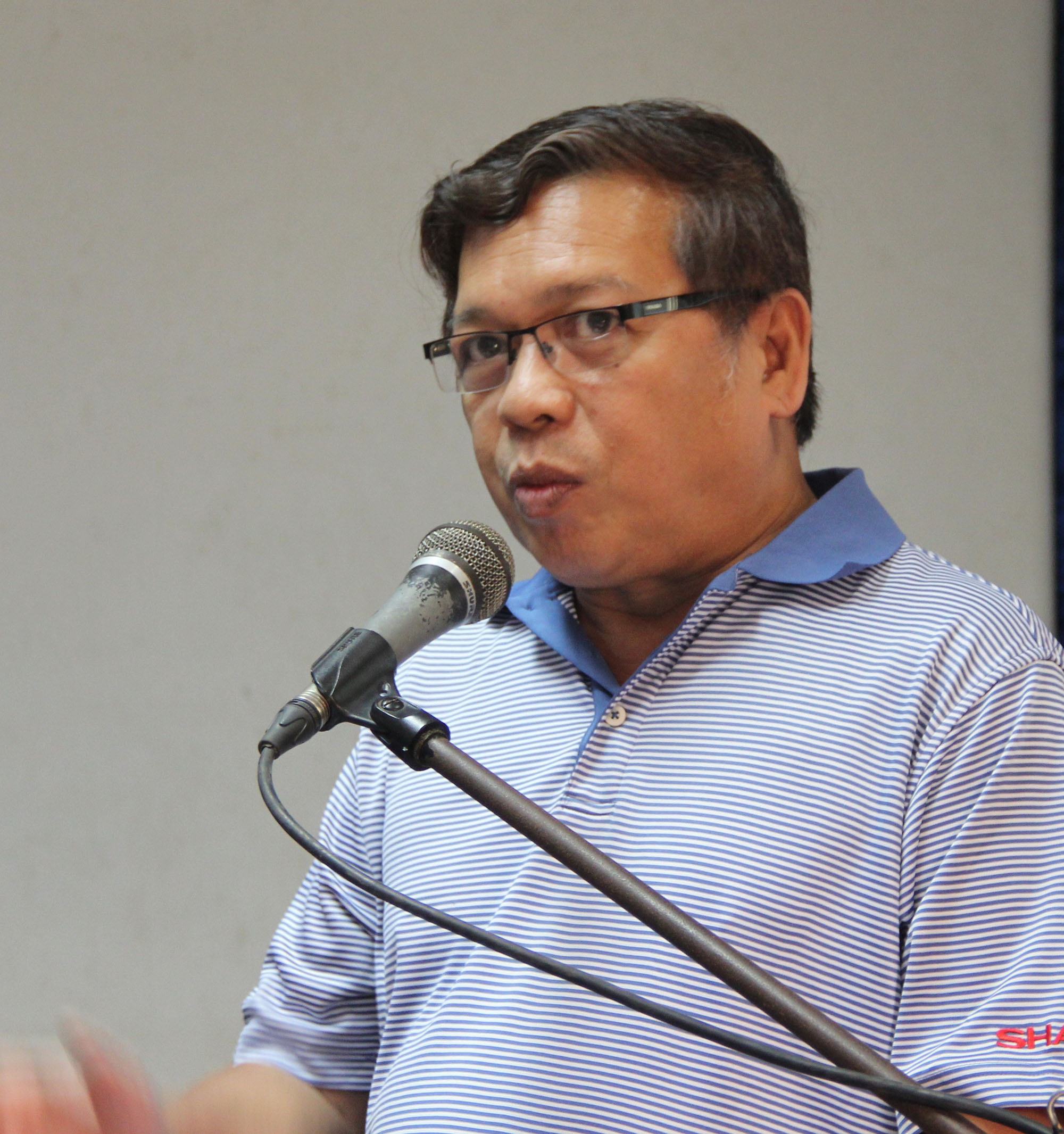 Mr. Edgar Javeson of the Department of Budget and Management.