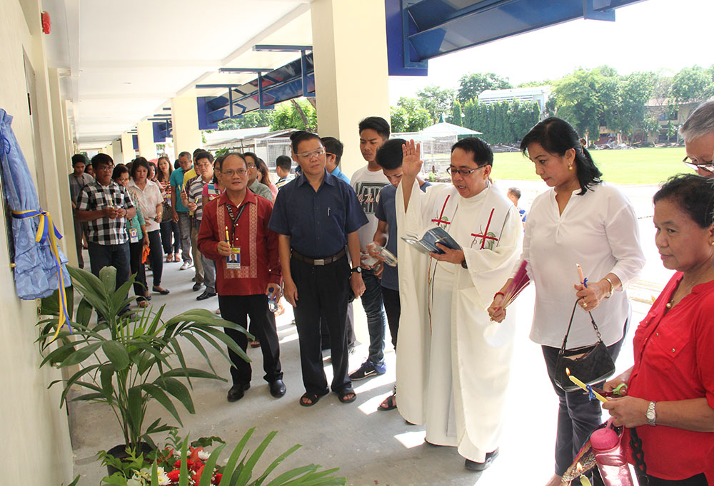 The blessing and inauguration of the Science and Technology Building.