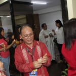 The blessing of the refurbished third floor of the administration building.